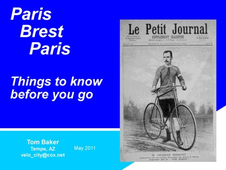 Paris Brest Paris Things To Know Before You Go